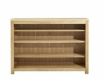 Vale Furnishers - Truro Low Bookcase
